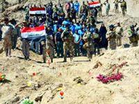 Tikrit'te 12 toplu mezar bulundu