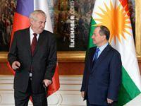 Çek Cumhurbaşkanı'ndan Barzani'ye: 'Siz kahramansınız'