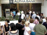 Yunanistan'da bankalar hafta boyunca kapalı kalacak