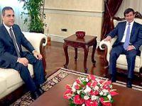 Başbakan Davutoğlu, MİT Müsteşarı Fidan'ı kabul etti
