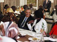 ABD Başkanı Obama Kenya'da akrabalarıyla buluştu