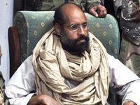 Kaddafi'nin oğluna idam cezası verildi