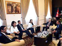 CHP ve HDP, 'barış' için bir araya geldi