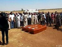 Alan Kurdi memleketi Kobani'de toprağa verildi