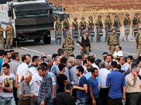 HDP heyeti geceyi geçirmek için İdil'e döndü
