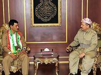 Barzani Alan Kurdî'nin babası ile görüştü