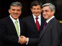 Gül ve Sarkisyan Bursa'da buluştu