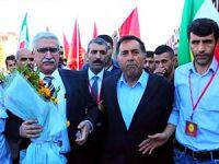 PSK lideri Mesut Tek 36 yıllık sürgünden sonra yeniden Türkiye'ye döndü