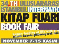34. Uluslararası İstanbul Kitap Fuarı yarın başlıyor