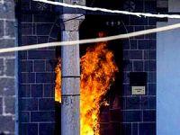 Diyarbakır'da 500 yıllık cami'yi yaktılar!
