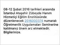 İdil'de operasyon sinyali: Öğretmenler İstanbul'daki seminere çağrıldı
