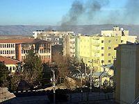 İdil'de şiddetli çatışmalar sürüyor