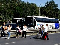 İstanbul'a dönüş: Yolcular yola indi!