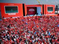 Yenikapı'da 'Demokrasi ve Şehitler Mitingi' yapılıyor