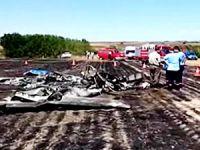 Tekirdağ'da eğitim uçağı düştü: 2 kişi hayatını kaybetti