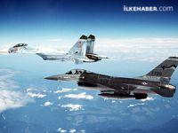 Rusya Karadeniz'de ABD uçağına önleme yaptı
