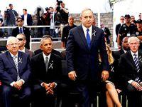 Dünya liderleri Şimon Peres'in cenazesinde buluştu