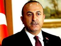 Çavuşoğlu: 'ABD, YPG'ye silah veriyor, nokta'