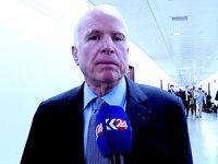 John McCain: Kürdistan'a silah yardımı doğrudan yapılmalı