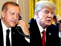 Zirvesi öncesi telefon: Erdoğan, Trump'la Suriye'yi konuştu