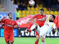 Galatasaray Sivas'ı ilk yarıda bitirdi