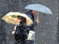Doğu'da kuvvetli yağış var