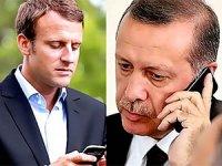 Erdoğan ve Macron ekonomi ve İdlib'i görüştü