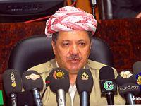 Barzani ateşkese destek verdi