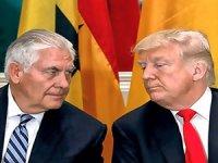 Trump ve Tillerson'dan sert sözler