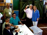 Şili'de seçimin galibi Pinera oldu