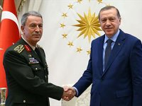 Erdoğan, Genelkurmay Başkanı Akar ile görüştü