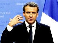 Macron: İki devletli çözüme alternatif yok
