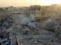 SNHR: Halep'teki saldırıdan Rusya sorumlu