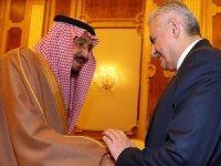 Yıldırım, Suudi Arabistan Kralı Selman ile görüştü