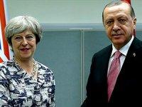 Erdoğan ile May telefonda görüştü