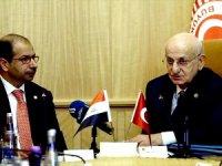 TBMM Başkanı, Irak Meclisi Başkanı Cuburi ile görüştü