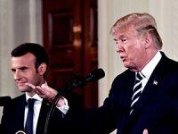 Trump'tan Fransa Cumhurbaşkanı Macron'a tepki