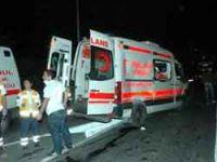 Ambulans kaza yaptı, hasta öldü