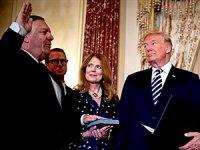 Pompeo: Trump tweet atana dek işbaşındayım