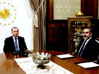 Erdoğan, MİT Başkanı Fidan'la görüştü