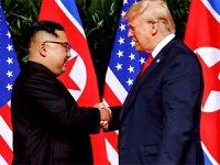 Trump ve Kim Jong Un anlaşma imzaladı