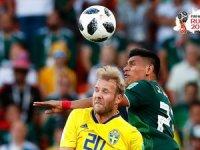 İsveç ile Meksika son 16 turuna kaldı