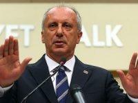CHP'li İnce: Gizli ajandam, gizli planlarım yok