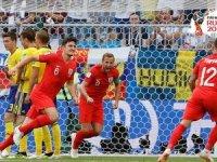 İngiltere  yarı finale yükseldi