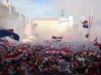 Hırvatistan'da buruk kutlama