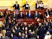 Kolombiya'da eski gerillalar kongrede yemin etti