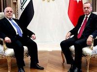 Cumhurbaşkanı Erdoğan, İbadi ile görüştü
