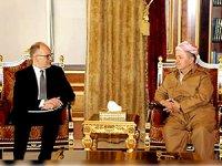 Mesud Barzani ABD'li heyeti kabul etti