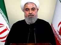 Ruhani: Yaptırımlar kalkarsa ABD ile hemen görüşürüz