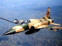 İran savaş uçağı dağa çakıldı